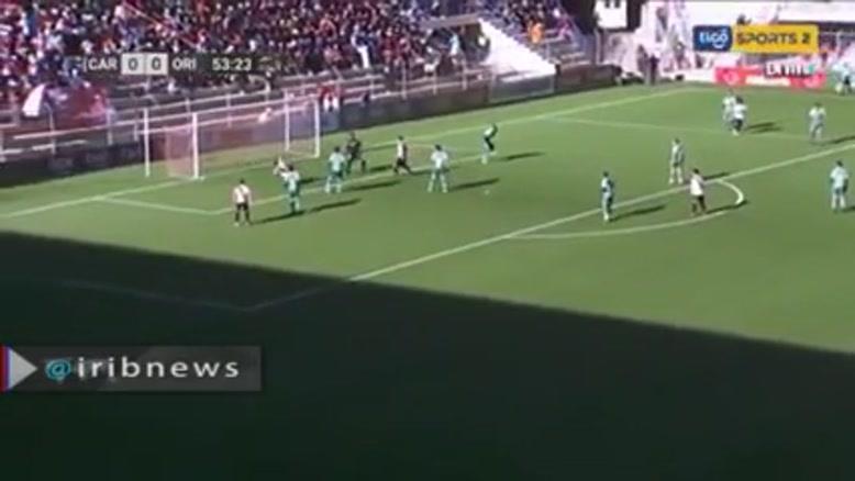 مرگ ناگهانی داور بولیویایی هنگام بازی