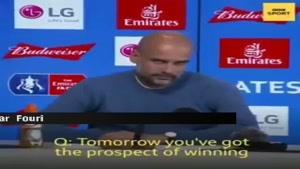 واکنش جالب گواردیولا در جواب کسب سه جام