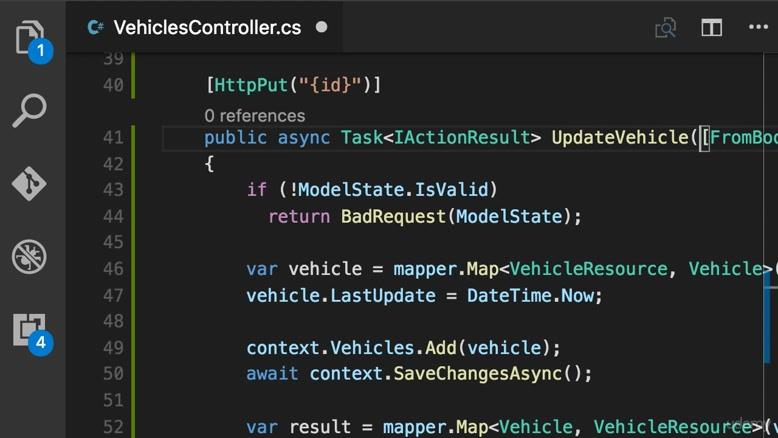 Lesson 50. Building an API to Update Objects