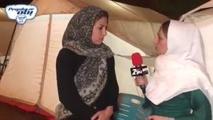 افطاری مهربانی صنایع شیر ایران پگاه برای سیل زدگان   فیلم
