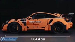 بازی ذهن و تقویت تمرکز با لگو پورشه دکول (Decool) مدل GT3 RS /ایستگاه