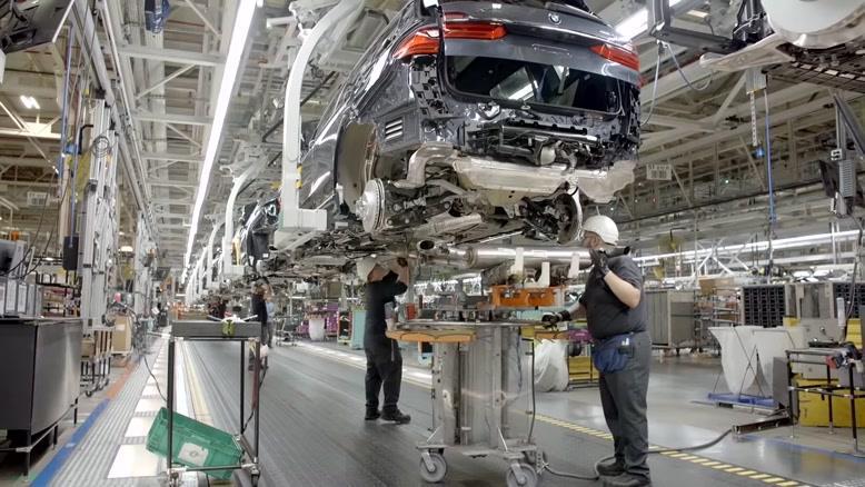 خط تولید خودروی  BMW X7