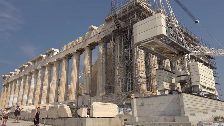 مکان های باستانی یونان