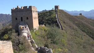 پیاده روی دردیوار بزرگ چین