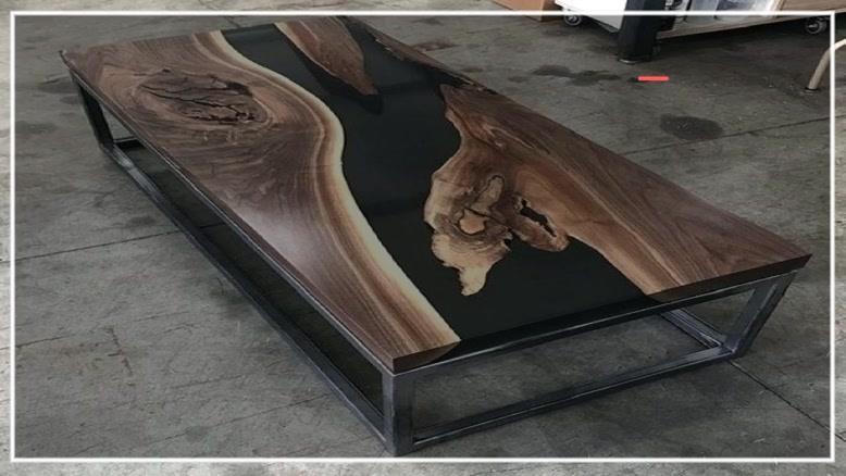 آموزش ساخت میز با رزین بصورت گام به گام - ۰۹۱۳۰۹۱۹۴۴۸