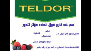 قارچ کش تلدور   teldor مبارزه تمام عیار با قارچ توت فرنگی و انگور