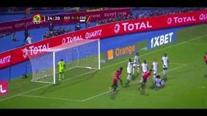 خلاصه بازی مصر - کنگو