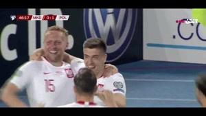 خلاصه بازی لهستان - مقدونیه