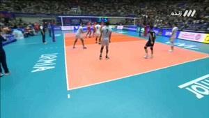 ست دوم والیبال ایران - روسیه