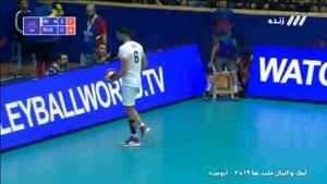 ست سوم والیبال ایران - روسیه
