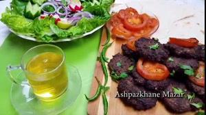 چبلی کباب (کباب تابه ای) | فیلم آشپزی