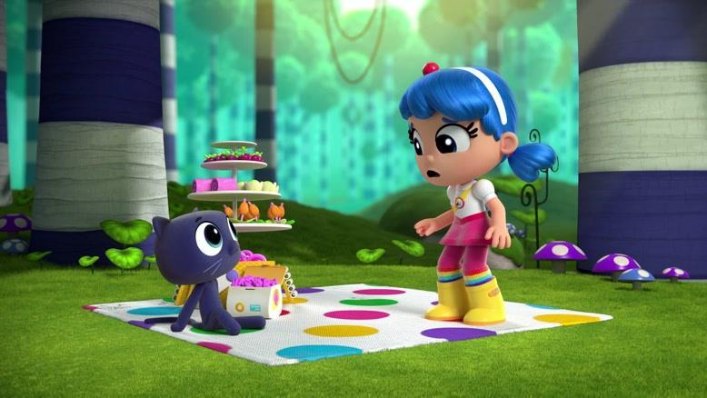 انیمیشن  ترو و پادشاهی رنگین کمان  فصل 1 قسمت هشت