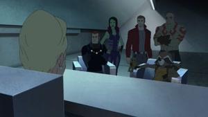 انیمیشن نگهبانان کهکشان فصل 3 قسمت بیست و شش