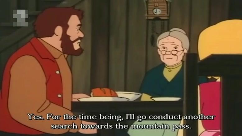 انیمیشن بچه های کوه آلپ  دوبله فارسی قسمت سی و هشت