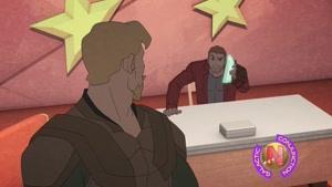 انیمیشن نگهبانان کهکشان فصل 3 قسمت نه