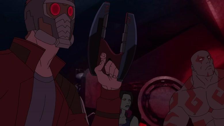 انیمیشن نگهبانان کهکشان فصل 3 قسمت سیزده