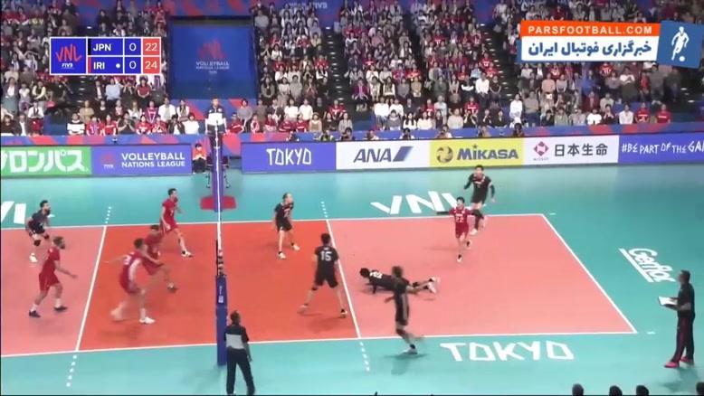 خلاصه بازی ایران 3-0 ژاپن