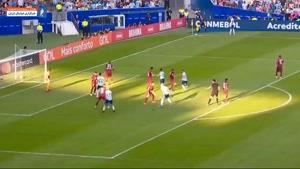 خلاصه بازی آرژانتین - ونزوئلا کوپا آمه ریکا 2019