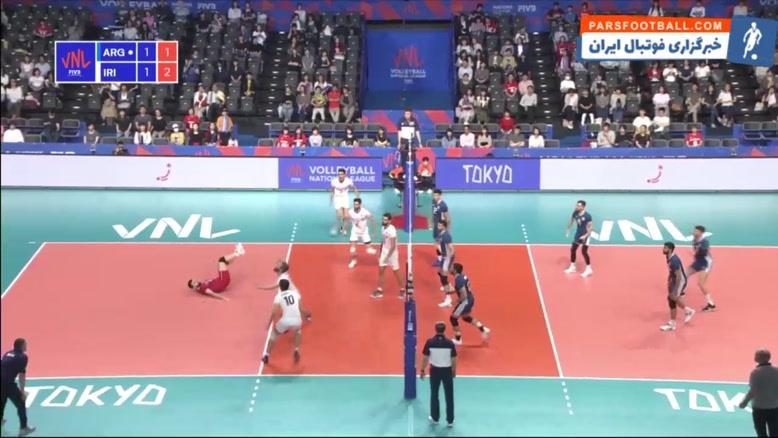 خلاصه بازی ایران 3-1 آرژانتین