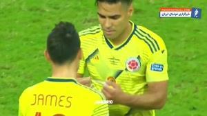 عملکرد خامس رودریگز در دیدار برابر پاراگوئه