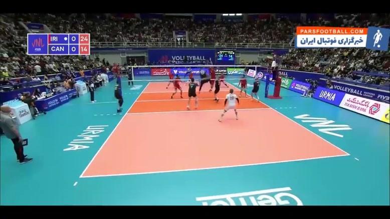 خلاصه بازی ایران 3-0 کانادا