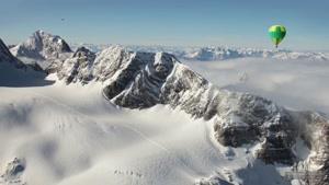 کوه های آلپ اتریش و بالون سواری
