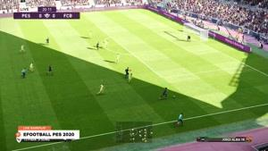 انتشار اولین تریلر از گیم پلی بازی eFootball PES 2020