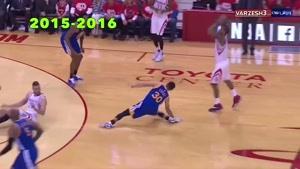 tamasha - شدیدترین مصدومیت ها در فینال NBA از سال 2015