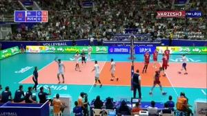 تماشا - خلاصه والیبال ایران 3 - روسیه 0 (لیگملتهایوالیبال)