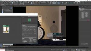 آموزش جامع کرونا برای ۳ds max - روشنایی و GI قسمت شش