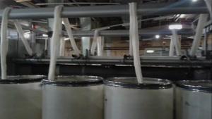 سالن تولید نخ اکریلیک