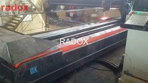 خدمات برش - برش هاردوکس بوسیله پلاسما زیر آب شرکت رادوکس ۲۷۷۶-۰۲۱