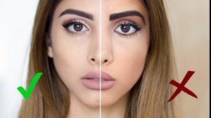 کلیپ آموزش آرایش کردن دخترانه  +  اشتباهات آرایشی