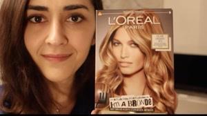 فیلم آموزش رنگ کردن مو در خانه + قیمت رنگ مو