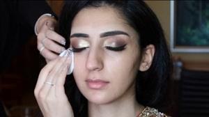 کلیپ آموزش میکاپ شرقی + میکاپ عروس هندی