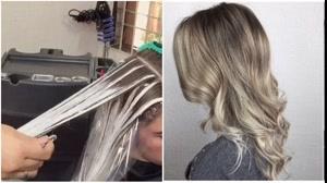 کلیپ آموزش بالیاژ مو مناسب  افراد تازه کار