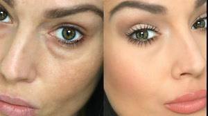 فیلم آموزش آرایش صورت و پنهان سازی پف زیر چشم