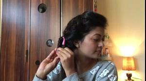 کلیپ یک روش راحت و آسان برای فر کردن مو