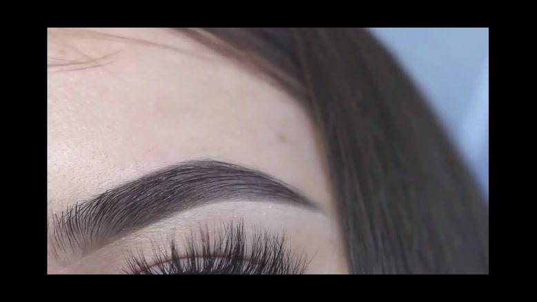 فیلم آموزش ساده آرایش  ابرو  + لوازم آرایش ابرو ارزان