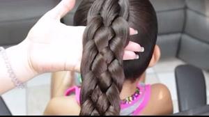 فیلم آموزش چند مدل بافت مو دخترانه اینستاگرام