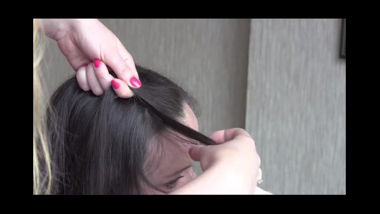 فیلم آموزش یک مدل  ساده بافت مو  یکطرفه