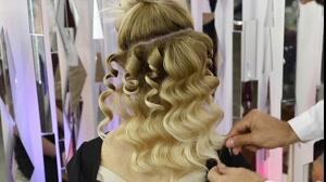 فیلم آموزش شینیون مو  مدل کرلی + آرایش مو جدید