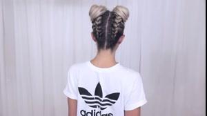 کلیپ جدیدترین بافت مو دخترانه مدل بافت خرگوشی