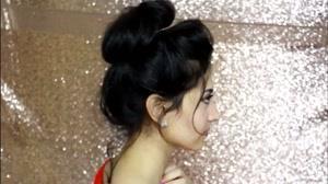 فیلم آموزش بستن مو با کش سر + شینیون مو در خانه