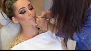 فیلم آموزش میکاپ عروس به سبک خلیجی