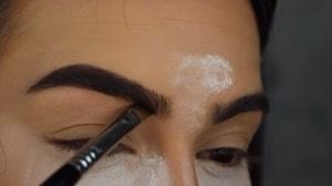 فیلم آموزش آرایش کامل ابرو + وکس ابرو
