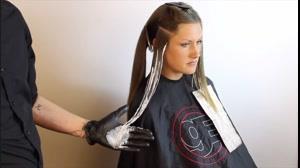 فیلم جدیدترین مدل آمبره کردن مو + رنگ مو جدید