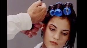 فیلم آموزش حالت دادن مو کوتاه + پیچیدن مو با بیگودی