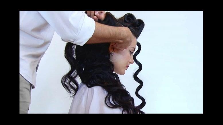 فیلم شینیون باز مو + آموزش فر مو با بالیس