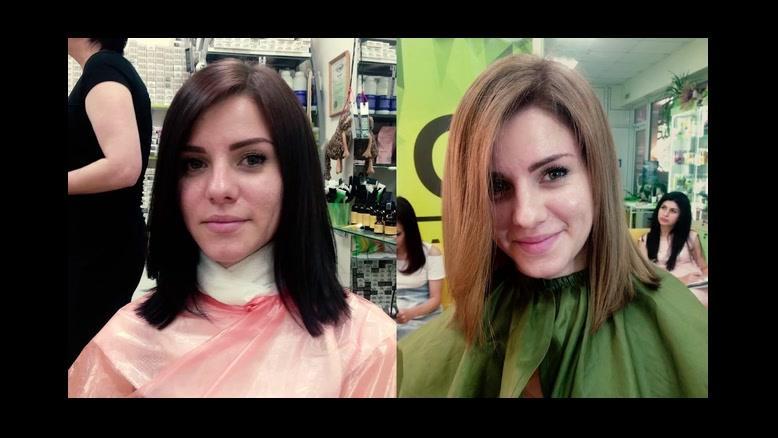 جدیدترین  سبک رنگ کردن مو + فیلم آموزش سامبره مو